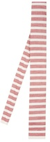 Gucci Striped Linen And Silk-blend Tie
