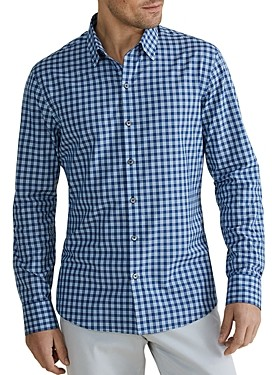Zachary Prell Vandeveere Check Classic Fit Button-Up Shirt