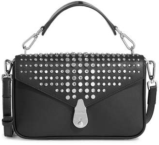 Calvin Klein Mini Embellished Leather Crossbody Bag