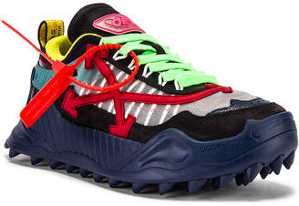 Off-White Off White Odsy-1000 Sneaker in Blue & Red | FWRD