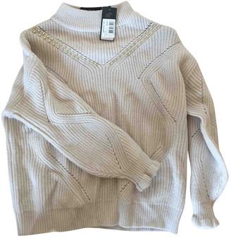GUESS Beige Wool Knitwear
