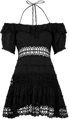 Free People Cruel Intentions black mini dress