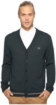 Fred Perry Tipped Merino Cardigan
