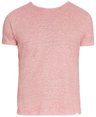 Orlebar Brown OB-T Linen Stripe T-Shirt
