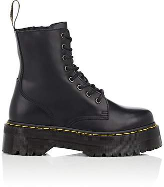 Dr. Martens Women's Jadon Leather Platform Ankle Boots - Black