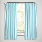 """Early Edition Blue Stripe 63"""" Curtain"""