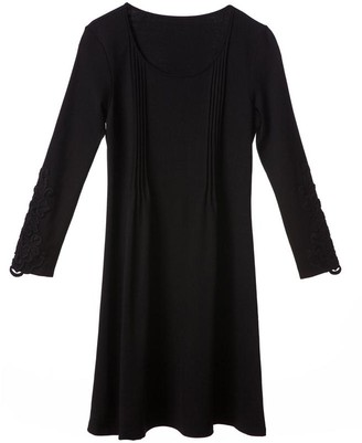 Black Label Reyna Pintuck Dress