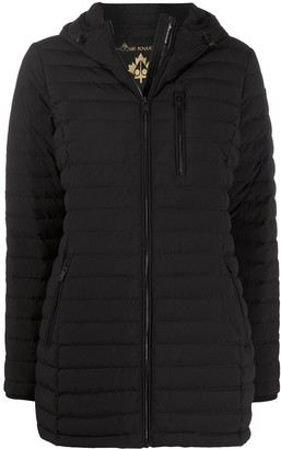 Moose Knuckles Calgary hooded puffer jacket