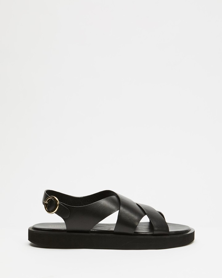 Atmos & Here Nadeen Leather Sandals