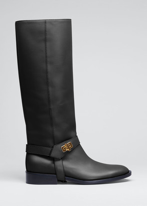 Givenchy Eden Tall Harness Riding Boots