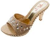 Jiyaru Women's PU Sandal Slipper Open Toe High Heel Slide Sandal US7