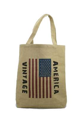 No Label Usa Flag Tote