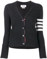 Thom Browne classic V-neck cashmere cardigan