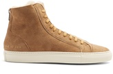 Common Projects Tournament mid-top suede trainers
