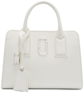 Marc Jacobs White Little Big Shot Bag