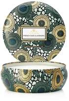 Voluspa Japonica Limited 3 Wick Decorative French Cade and Lavender Tin Candle
