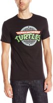 Nickelodeon Teenage Mutant Ninja Turtles Men's TMNT Manhole T-Shirt