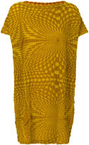 Issey Miyake textured T-shirt dress