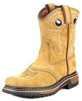 """Rocky Saddle Ride 7"""" Youth Square Toe Leather Western Boot."""