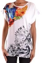 Just Cavalli Women's White Viscose T-shirt.