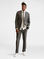 DKNY Notch Lapel Suit Jacket