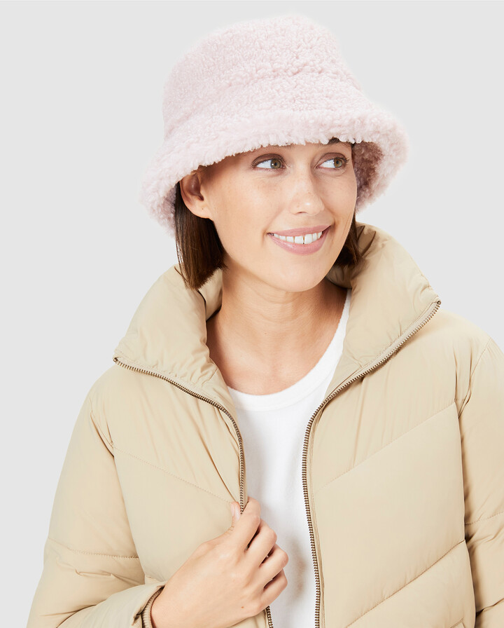 Thumbnail for your product : French Connection Women's Hats - Teddy Bucket Hat - Size One Size, 00 at The Iconic