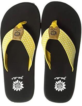 Yellow Box Fromy (Black) Women's Sandals