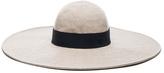Maison Michel Lucia Wavy Large Brim Hat
