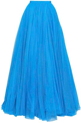 Jenny Packham Turquoise Silk Skirt for Women
