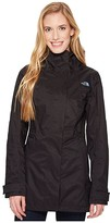 The North Face City Midi Trench (TNF Black) Women's Coat