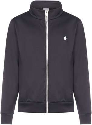 Marcelo Burlon County of Milan Cross Cotton-blend Track Jacket