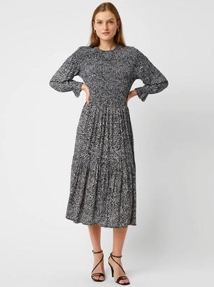 Great Plains Ivy Fleur Dress in Black - 10