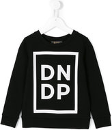 Dondup Kids - logo print sweatshirt - kids - Cotton - 6 yrs