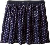 Polo Ralph Lauren Cotton Blend Flounce Skirt (Little Kids)