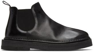 Marsèll Black Gomme Parapa Anfibio Boots
