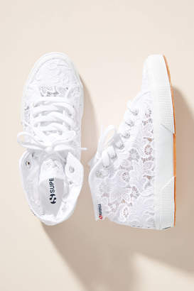 Superga Lace High-Top Sneakers
