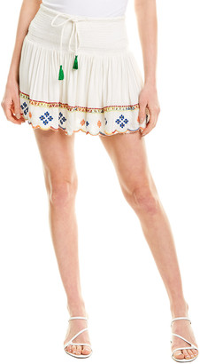 HEMANT AND NANDITA Terrain Mini Skirt