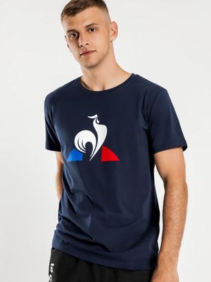 Le Coq Sportif Essenitel Logo T-Shirt in Dress Blue