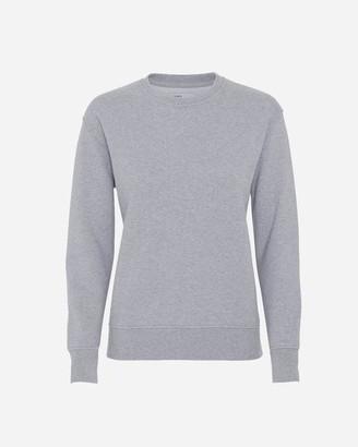 Colorful Standard - Heather Grey Womens Crew Neck Sweatshirt - XS / Gris