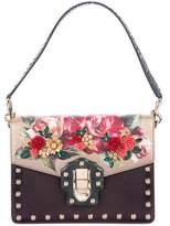 Dolce & Gabbana Python-Trimmed Lucia Bag