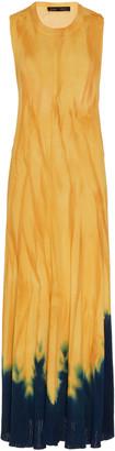 Proenza Schouler Tie-Dyed Sleeveless Knit Maxi Dress