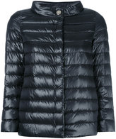 Herno high neck puffer jacket - women - Cotton/Feather Down/Polyamide/Viscose - 44