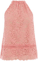 Oasis Lace Halter Top