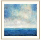 Pottery Barn Seascape Horizon Framed Print