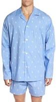 Polo Ralph Lauren Men's 'Polo Player' Embroidered Pajama Top