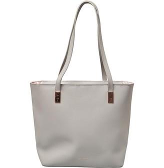 Ted Baker Womens Daman Zipped Top Shopper Grey