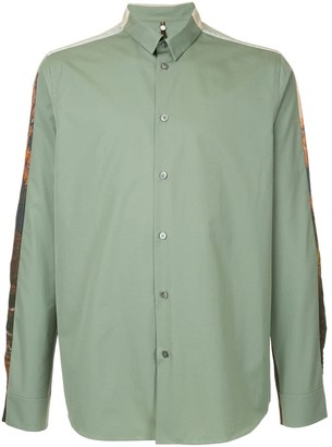 Oamc mountain print shirt