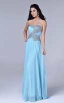 Nina Canacci - 8005 Dress in Aqua