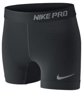 "Nike Pro Core 4"" Compression Girls' Shorts"