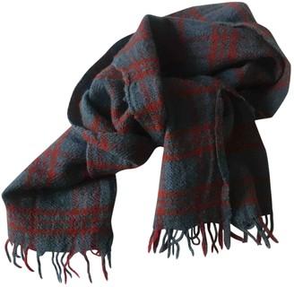 soeur Blue Wool Scarves